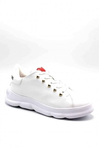 Moschino Sneakers F.gomma Sneakerd.camp40 vitello bianco Donna Bianco Fashion