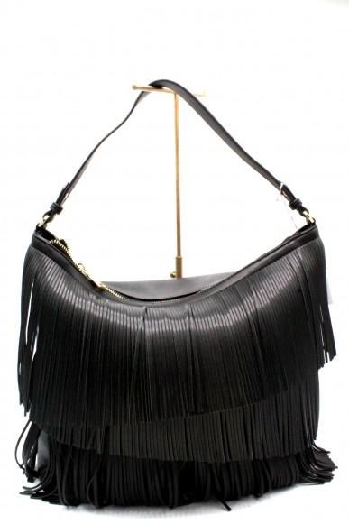 Patrizia pepe Borse - Frange Donna Nero Fashion