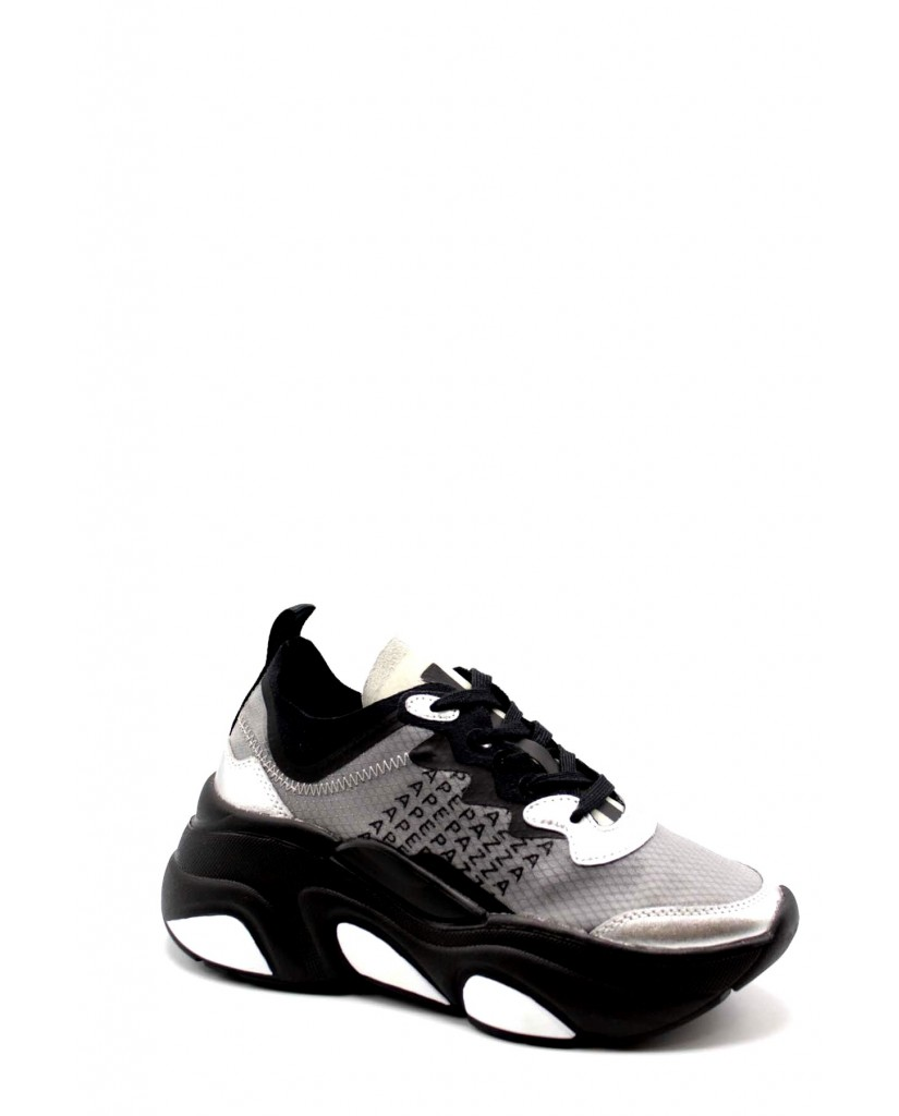 Apepazza Sneakers F.gomma Suzanne Donna Nero Fashion