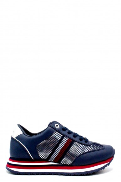 Tommy hilfiger Sneakers F.gomma 36/41 corporate flag sneaker Donna Blu Fashion