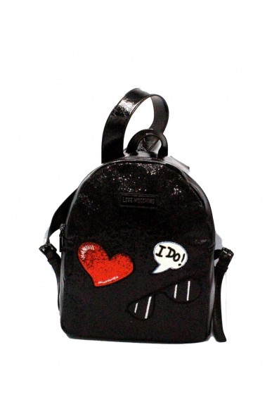 Moschino Backpacks - Zainetto nuova collezione Donna Nero Fashion