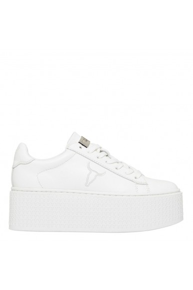 Windsor smith Sneakers F.gomma Seoul brave white white Donna Bianco Fashion
