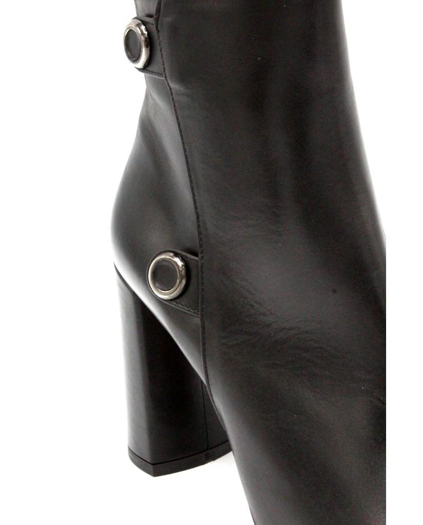 Albano Tronchetti F.gomma 36-40 made in italy Donna Nero Fashion