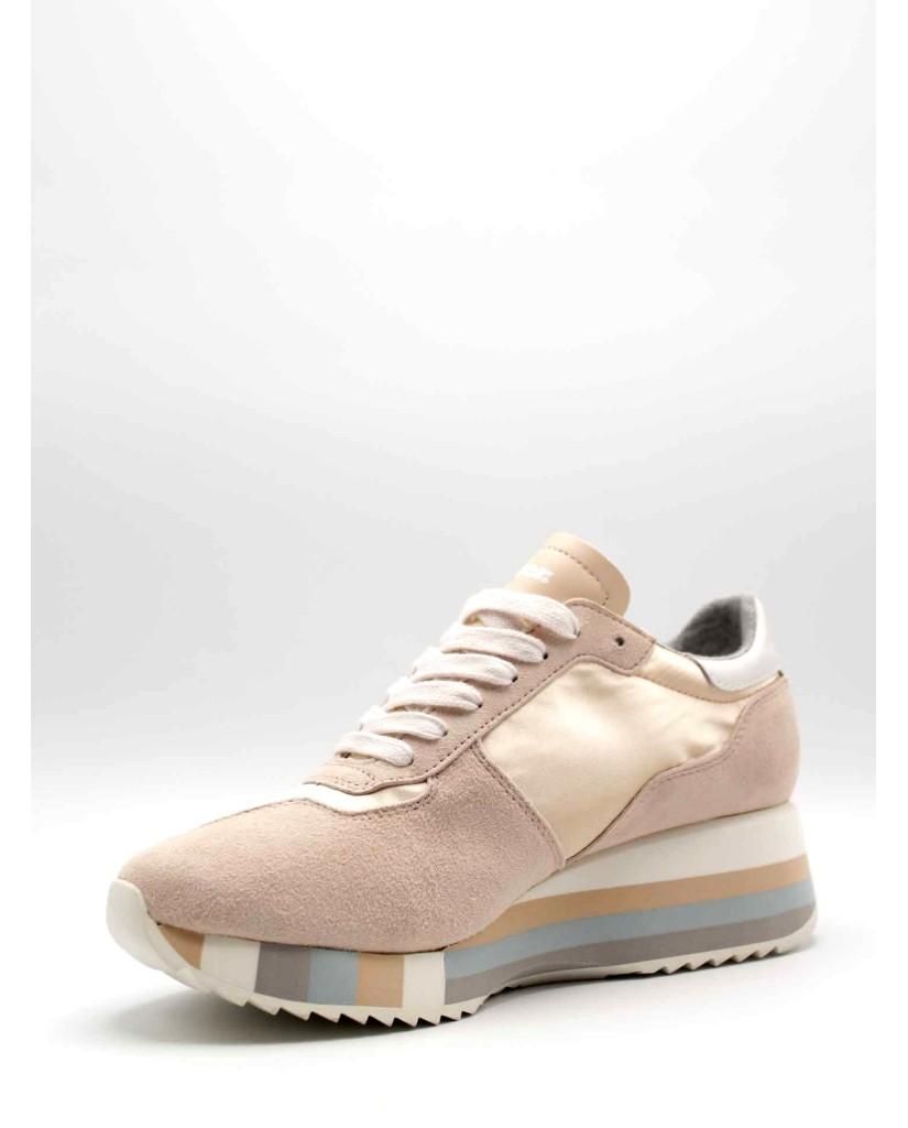 Blauer Sneakers F.gomma Charlotte01 Donna Rosa Fashion