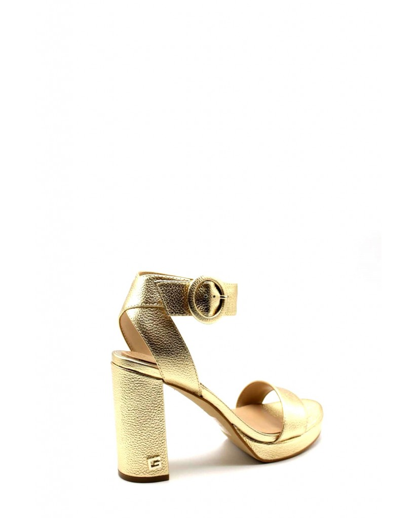 Guess Sandali F.gomma Brendy/sandalo (sandal)/leathe Donna Oro Fashion