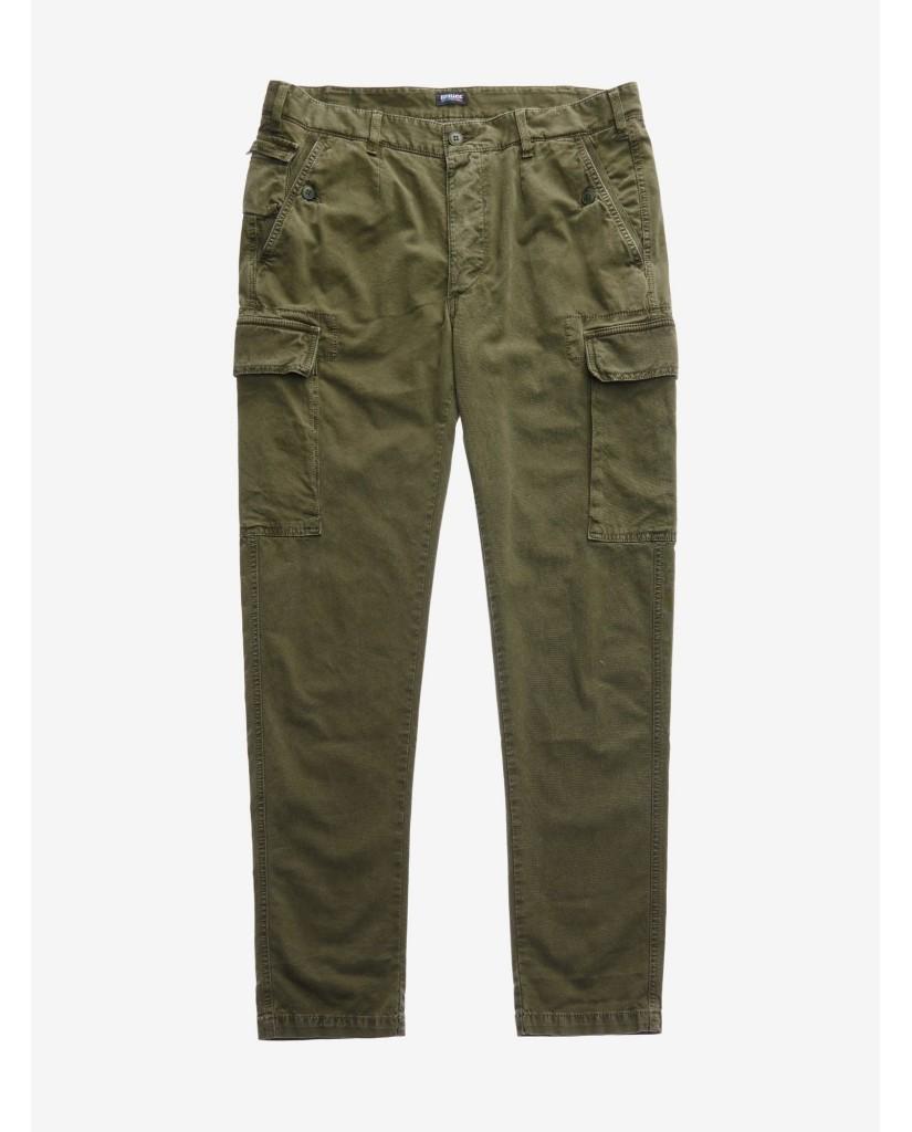 Blauer Pantaloni   Pantalone lungo cargo / tasconato Uomo Verde Fashion