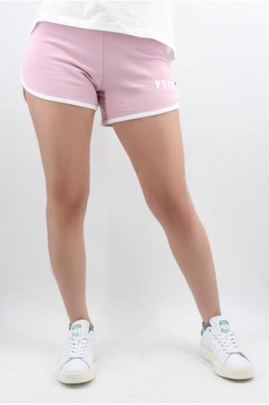 52fb3ee669b07a Pyrex Shorts Short donna in felpa Donna Cipria Fashion