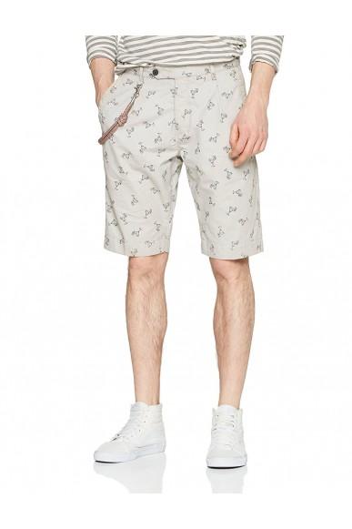 Antony morato Shorts   Pantaloncino carrot con catena Uomo Pietra Fashion