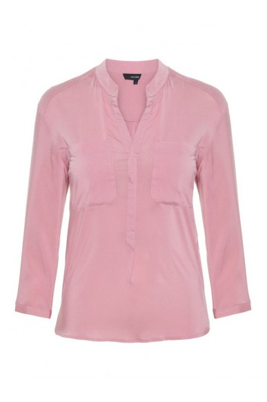 Vero moda Camicie   Vmerika plain 3/4 shirt color Donna Rosa Fashion