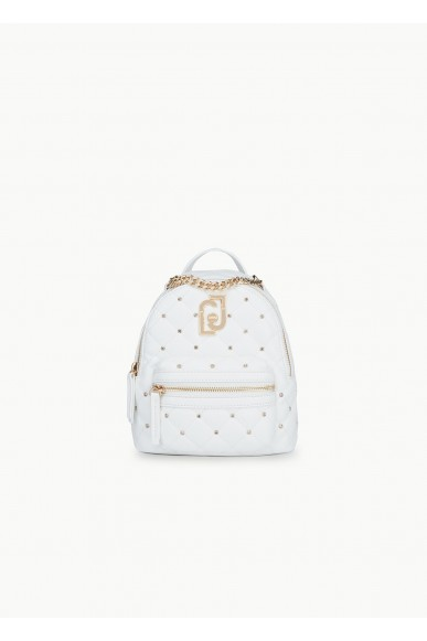 Liu.jo Backpacks Ecopelle Back pack Donna Bianco Fashion