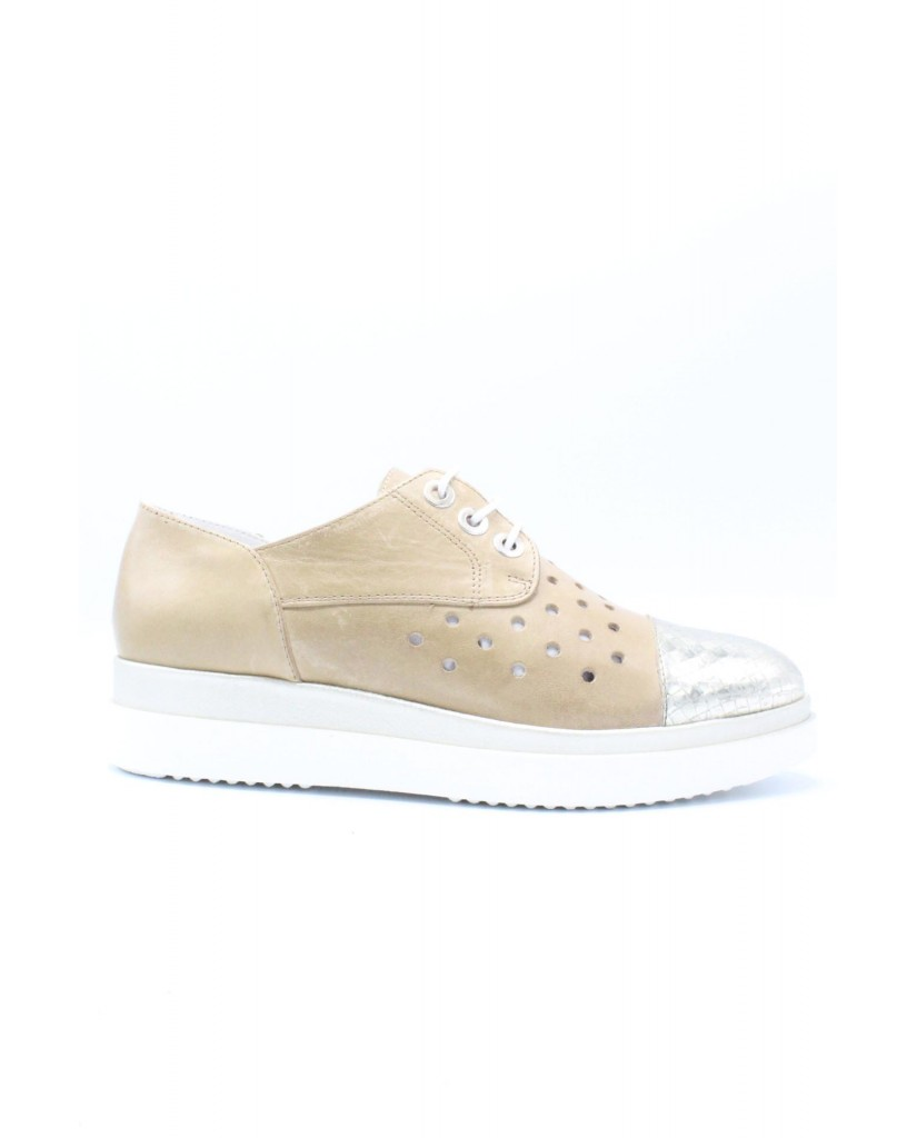 Key's Sneakers F.gomma 35/41 Donna Cuoio Fashion
