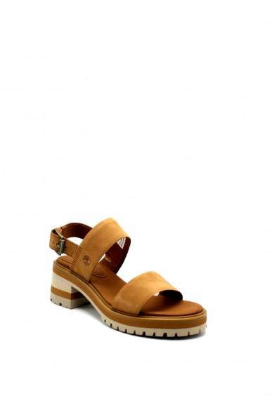 Timberland Sandali F.gomma Violet marsh 2-band sandal Donna Cuoio Fashion