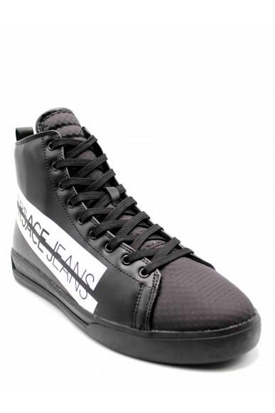 Versace jeans Sneakers F.gomma Linea fondo brad dis. 1 Uomo Nero Fashion