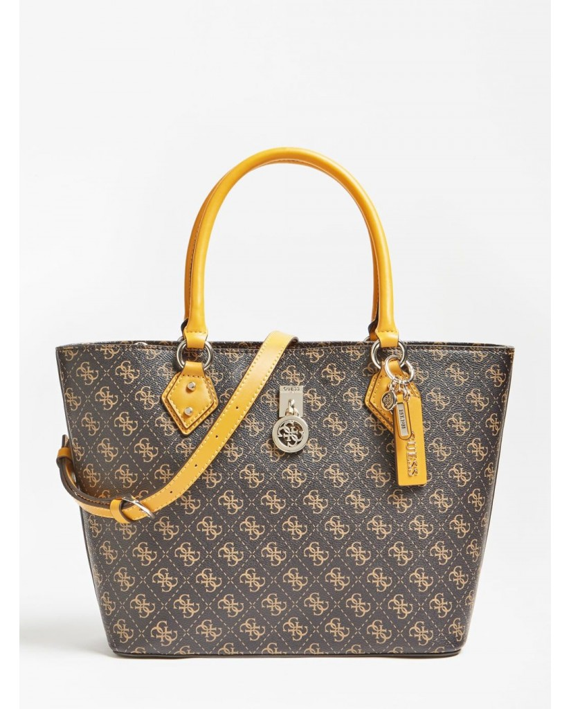 Guess Tracolle   Jensen society tote Donna Marrone Fashion