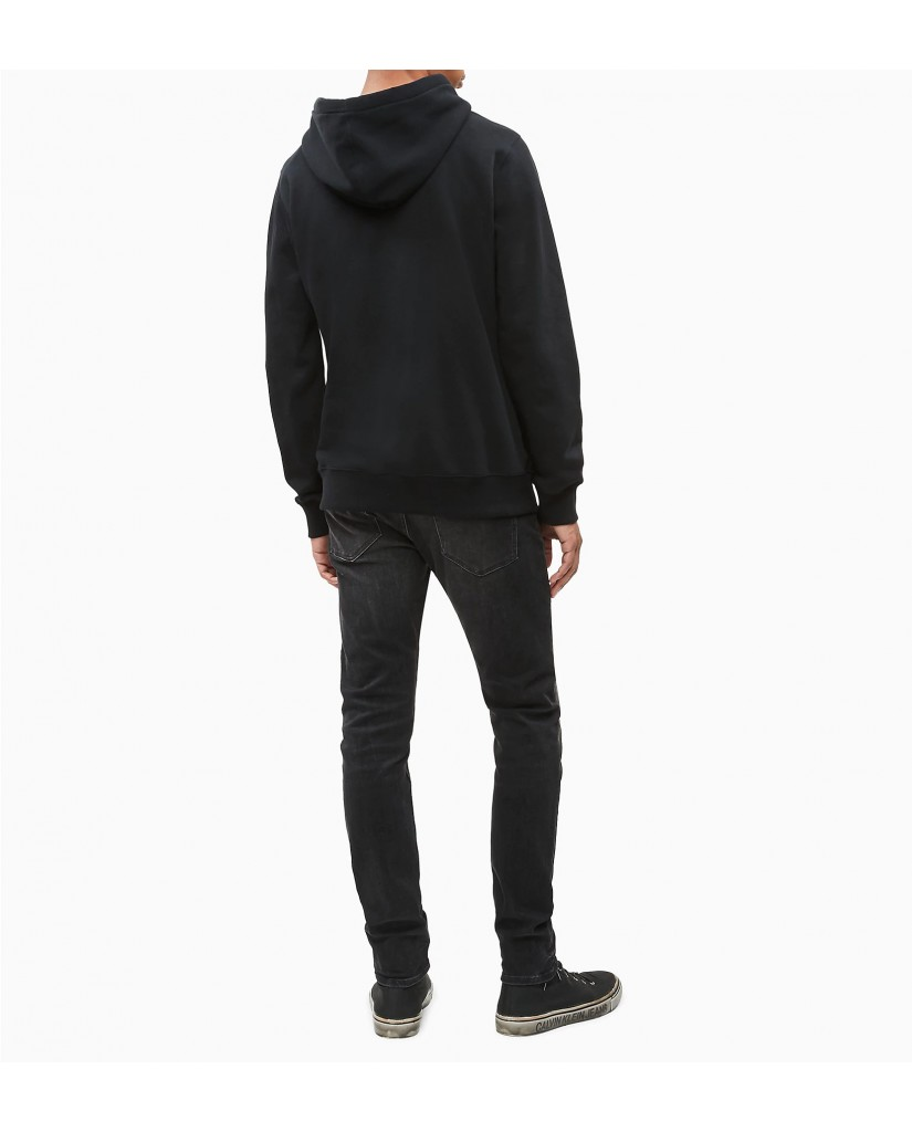 Calvin klein jeans Felpe   Monogram reg hoodie Uomo Nero Fashion