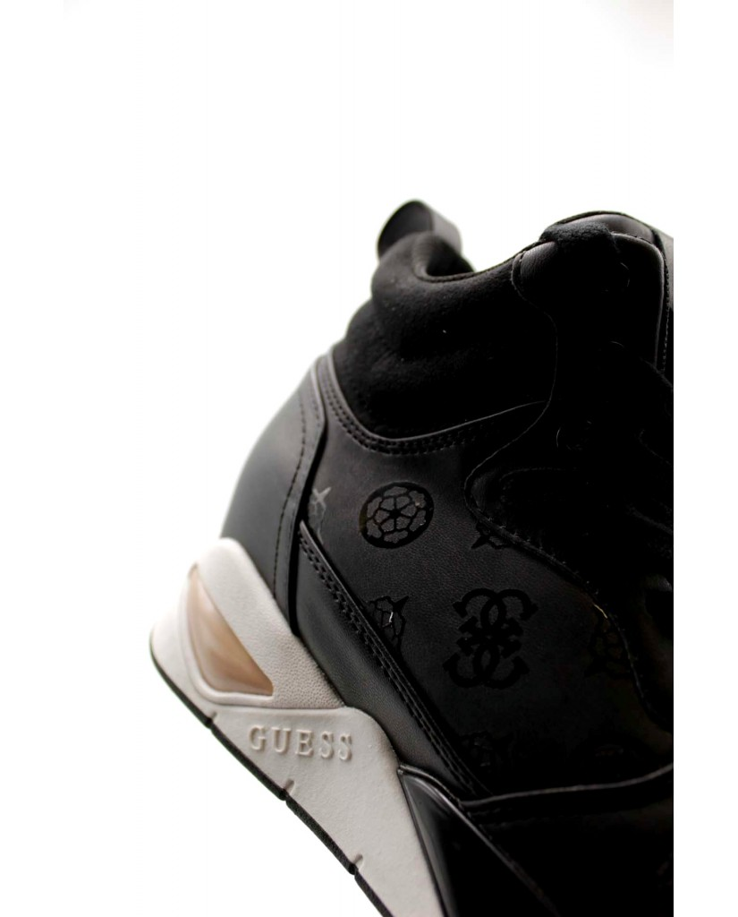 Guess Sneakers F.gomma Dense/active lady/leather like Donna Nero Fashion