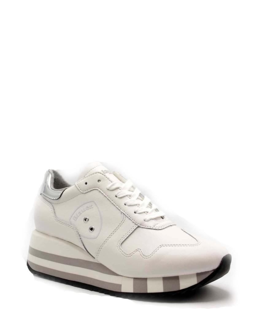 Blauer Sneakers F.gomma Charlotte01 Donna Bianco Fashion