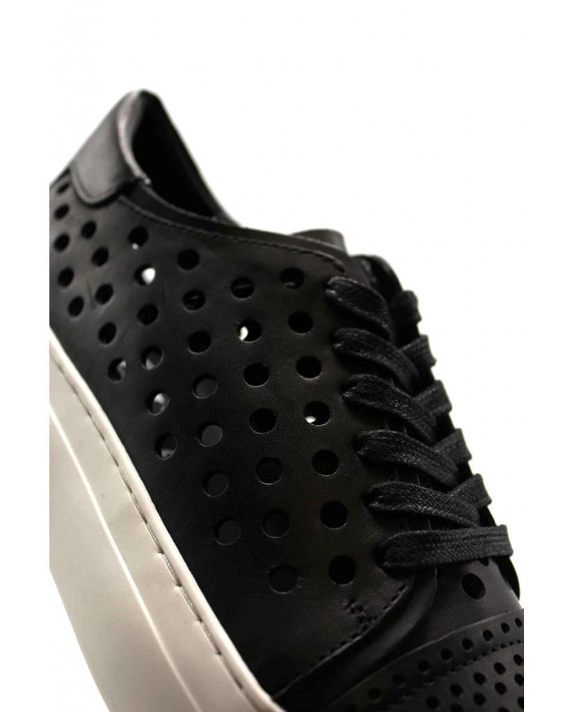 Cult Sneakers F.gomma Love 3152 low w leather black Donna Nero Fashion