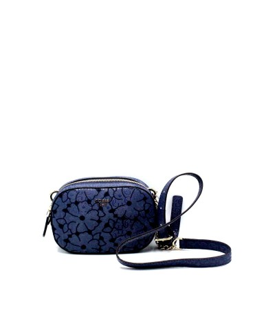 Guess Borse - Jayne mini crossbody top zip Donna Blu Fashion