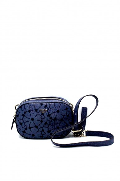 Guess Borse - Jayne mini crossbody top zip Donna Blu Fashion