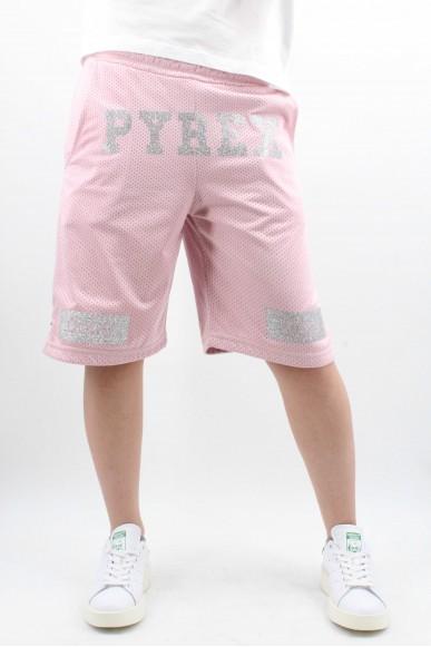 Pyrex Bermuda   Bermuda donna in rete Unisex Cipria Fashion