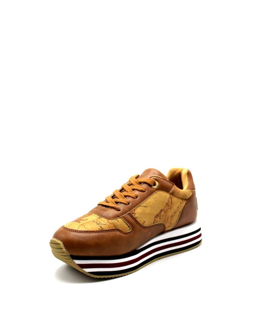 1^classe  Sneakers F.gomma In07110208 Donna Cuoio Fashion