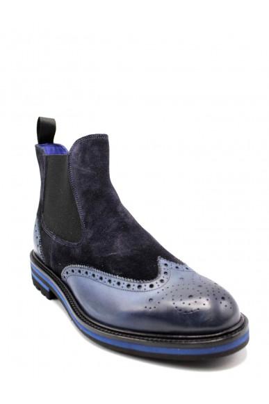 Brecos Beatles F.gomma 40-45 Uomo Azzurro Fashion