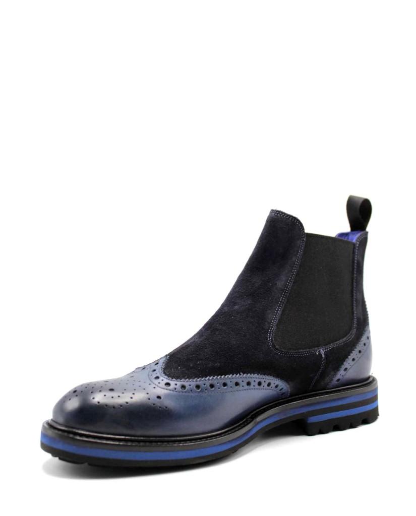 Brecos Beatles F.gomma Uomo Azzurro Fashion