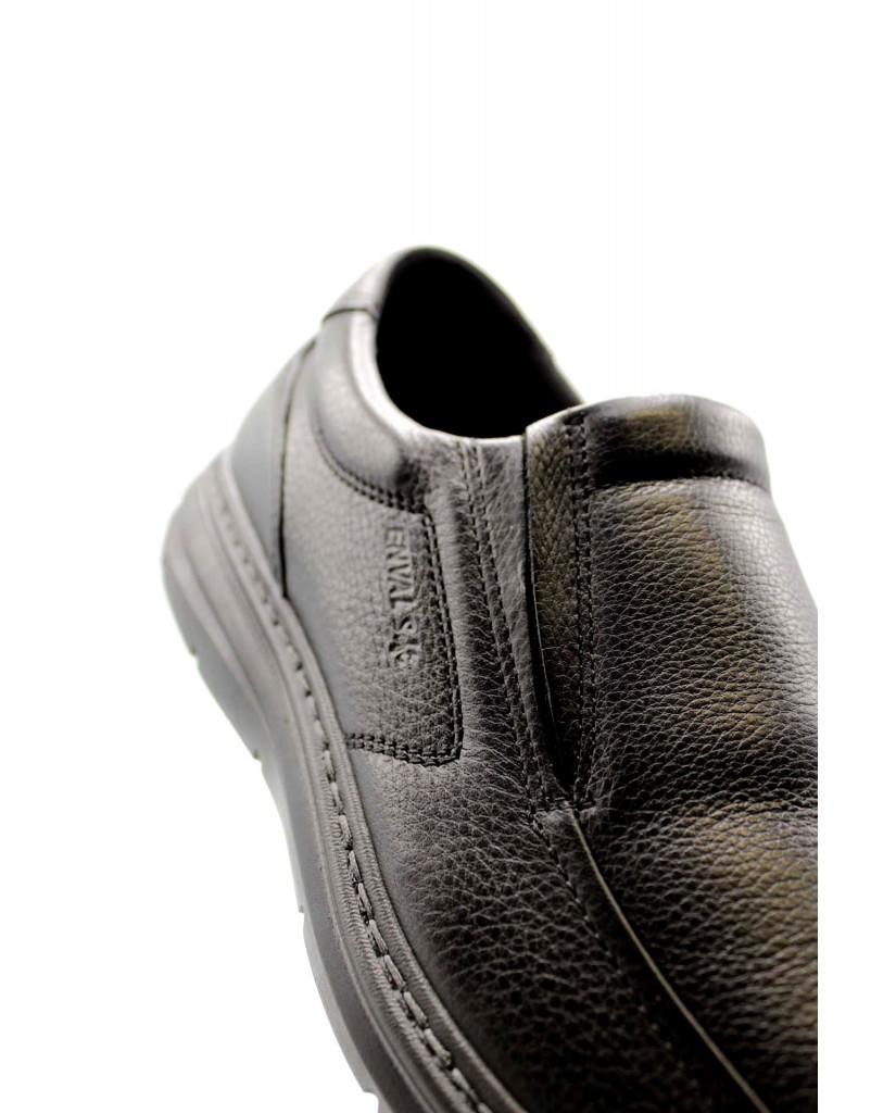 Enval soft Mocassini F.gomma U bf 62092 Uomo Nero Confort