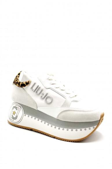 Liu.jo Sneakers F.gomma Liujo super maxi wonder 1 - sneaker Donna Bianco Fashion