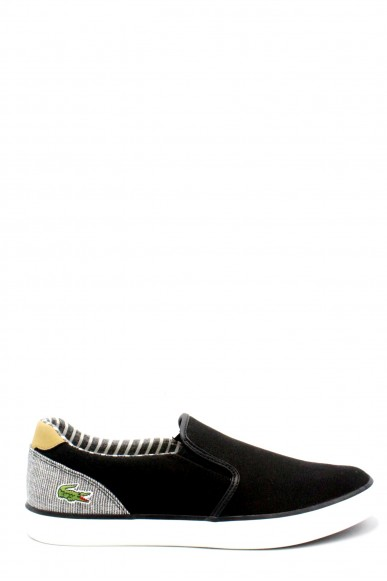 Lacoste Slip-on   Jouer slip on ss18 Uomo Nero Fashion