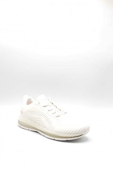 Skechers Sneakers F.gomma 36/41 Donna Bianco Fashion