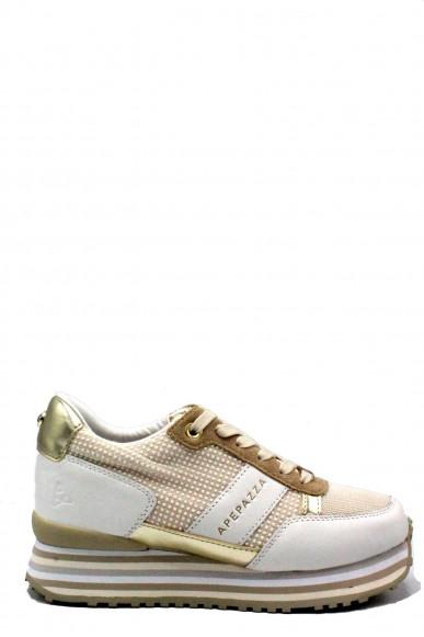 Ape pazza Sneakers F.gomma 35/41 Donna Bianco Fashion