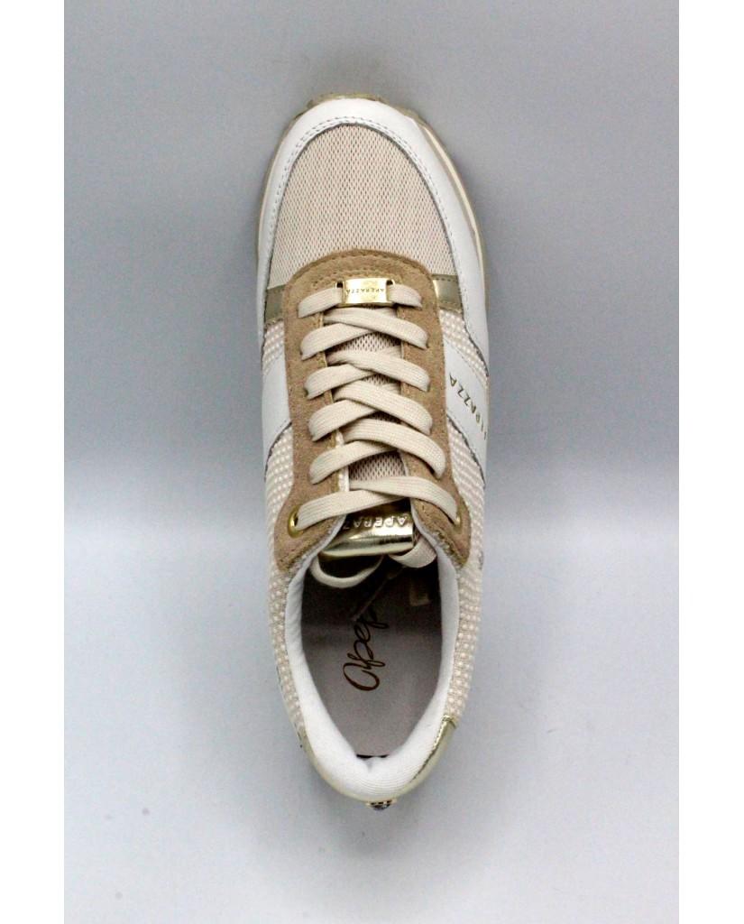 Apepazza Sneakers F.gomma 35/41 Donna Bianco Fashion