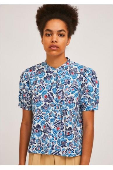 Compagnia fantastica Camicie   Sp21pic03 Donna Blu Fashion