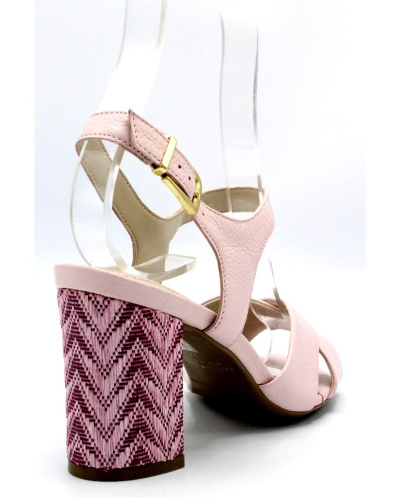 Capelli rossi Sandali 8267 Donna Rosa Fashion
