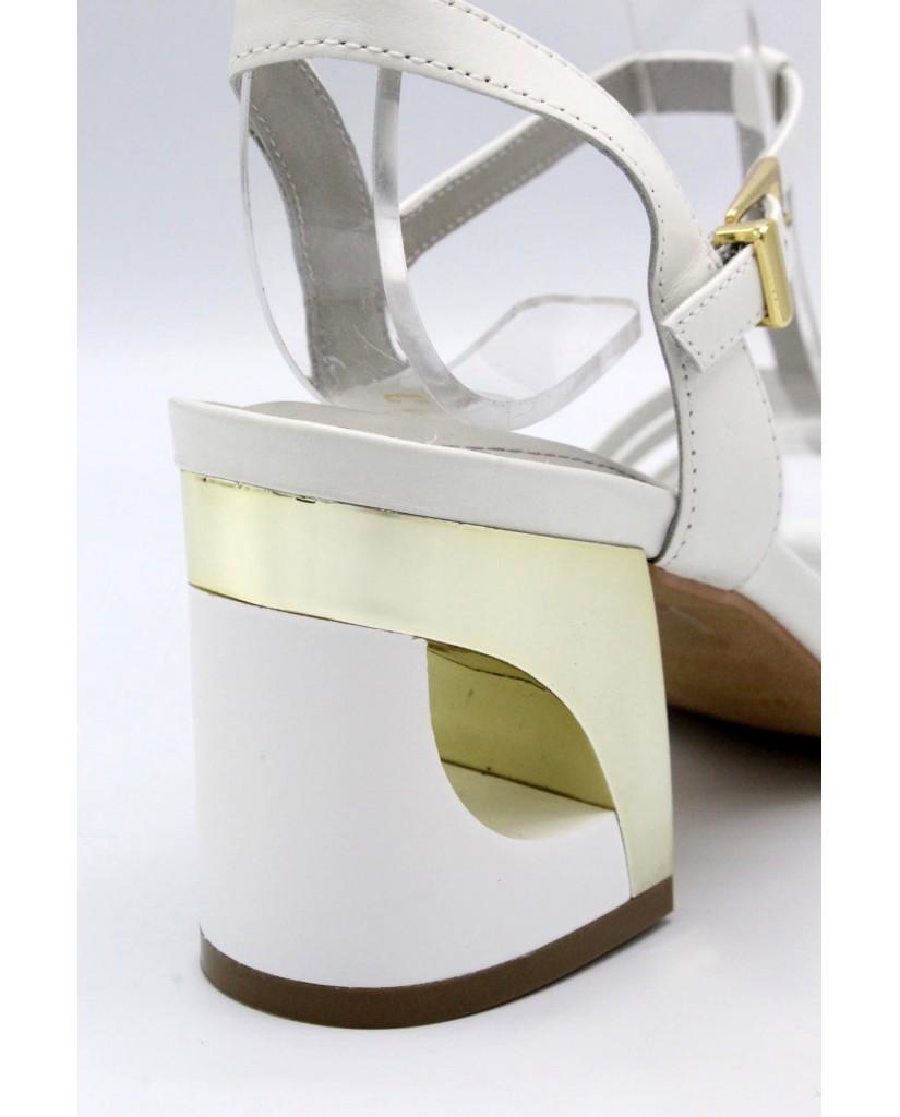 Capelli rossi Sandali 8275 Donna Bianco Fashion