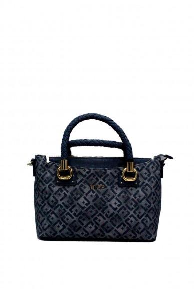 Liu.jo Borse - A satchel manhattan printed Donna Blu Fashion