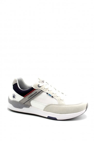 Lumberjack Sneakers F.gomma Austin Uomo Bianco Casual