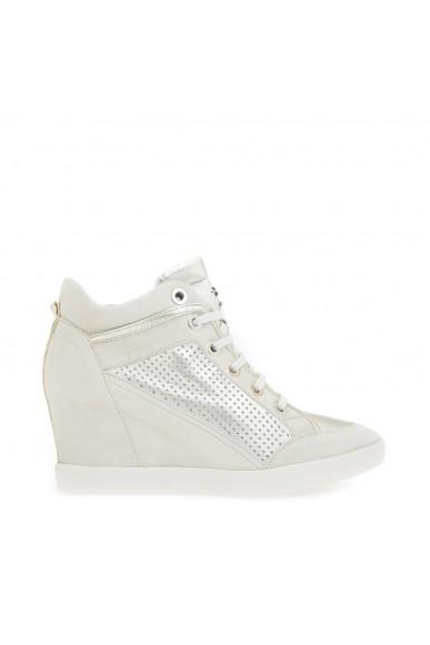 Geox Sneakers F.gomma D eleni c - goa.sue+pear.goa Donna Ivory/platinum Casual