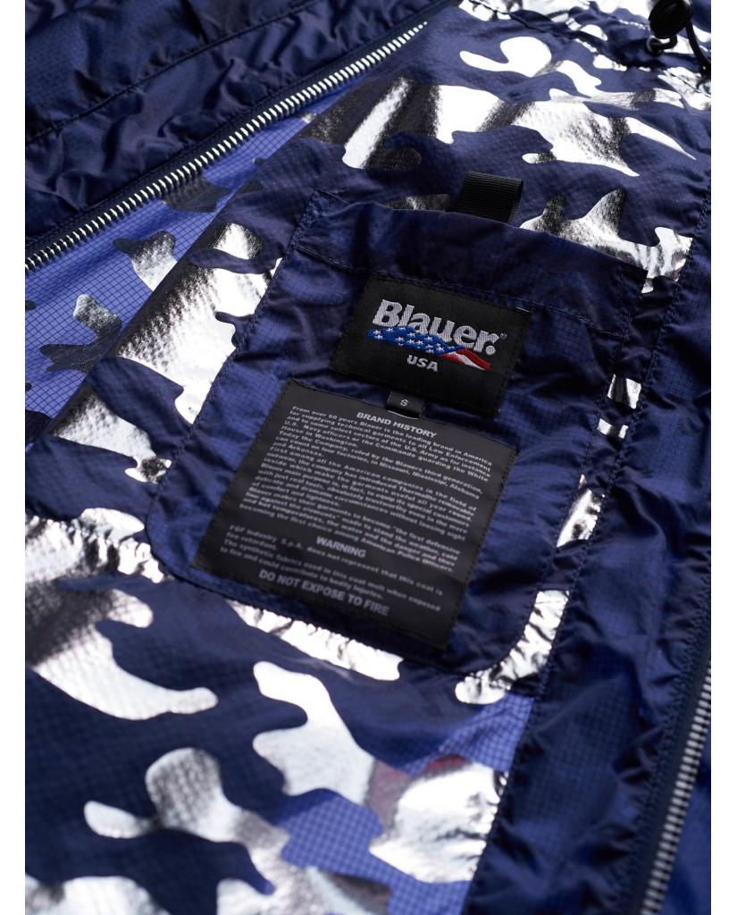 Blauer Giacchetti   Impermeabile / trench lunghi sfoder Donna Blu Fashion