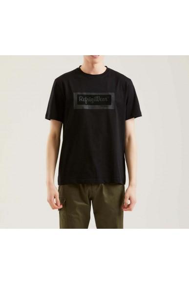 Refrigiwear T-shirt   Ridge t-shirt Uomo Nero Fashion