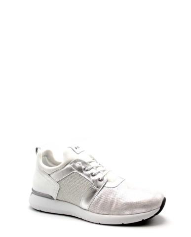 Nero giardini Sneakers Monet color 6715 bia oxigen argento Donna
