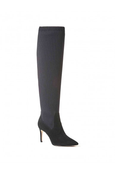 Guess Stivali F.gomma Bolli/stivale (boot)/suede Donna Nero Fashion