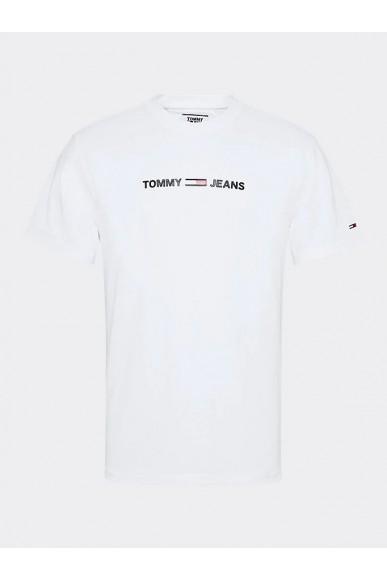 Tommy hilfiger T-shirt   Tjm straight small l Uomo Bianco Fashion