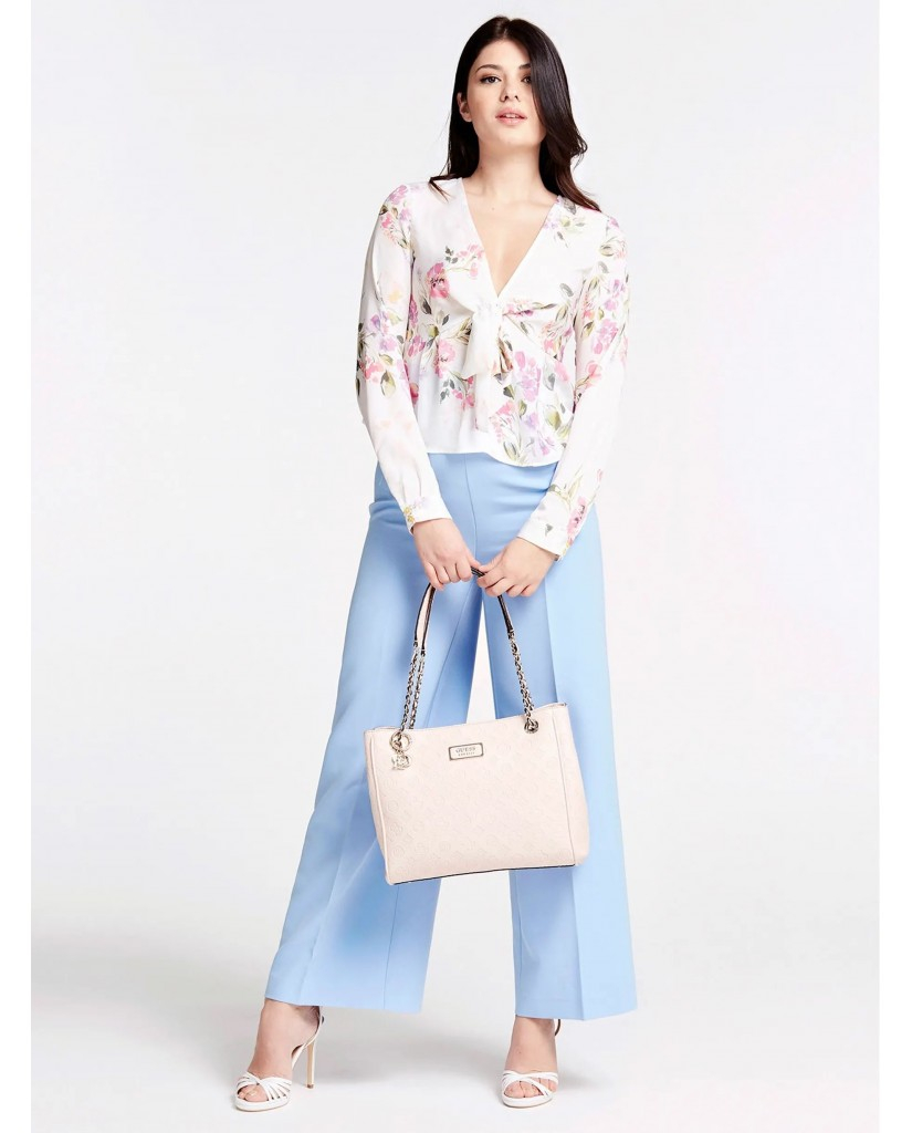 Guess Borse   Logo love girlfriend carryall Donna Rosa Fashion