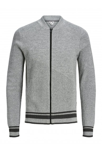 Jackejones Cardigan   Jcoelias knit cardigan Uomo Bianco Fashion