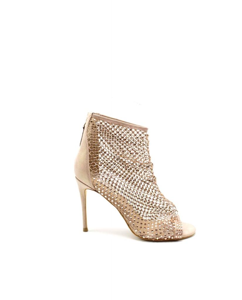 Guess Stivaletti F.gomma Kella/stivaletto (bootie)/leat Donna Rosa Fashion