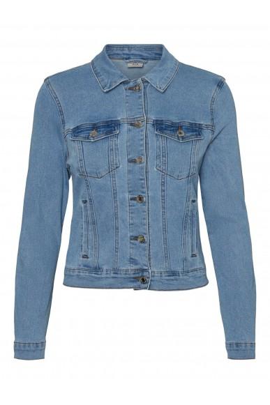Vero moda Giacchetti   Vmhot soya ls denim jacket mix noos Donna Blu Fashion