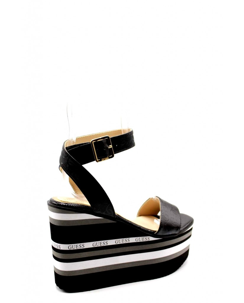 Guess Sandali F.gomma Ramada Donna Nero Fashion